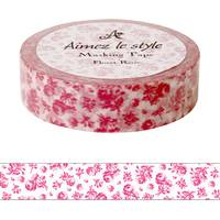 Washi Tape Small Roses 15mm