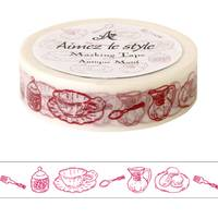 Washi Tape Antique Motif 15mm