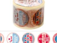 Wide Washi Tape Milk Cap 38mm