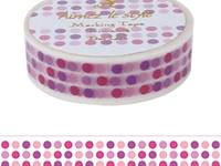 Washi Tape Dots and Lines 15mm