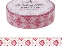 Washi Tape Damask 15mm