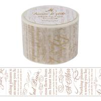 Wide Washi Tape Calligraphy 38mm