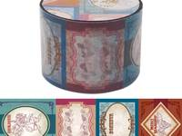 Wide Washi Tape Vintage Label 38mm
