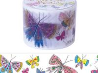Wide Washi Tape Butterflies 38mm