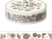 Washi Tape Botanical Green 15mm