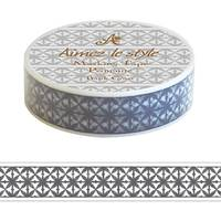 Washi Tape Dots Batic Cross15mm