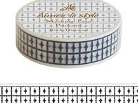 Washi Tape Batic Diamond 15mm