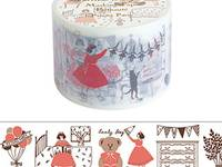 Wide Washi Tape Pyjama Party 38mm