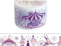 Wide Washi Tape Circus Dream 38mm