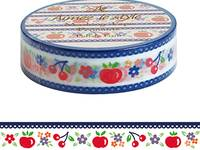 Washi Tape Polish Fruit 15mm