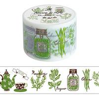 Wide Washi Tape Herb Tea 38mm
