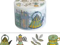Wide Washi Tape Coffee Things 38mm