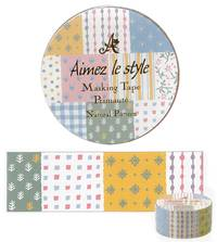 Washi Tape Natural Pattern 28mm