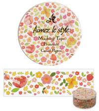 Washi Tape Casual Flower 28mm