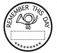 Stempel Remember this day