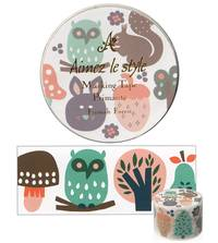 Wide Washi Tape Finnish Forest 38mm