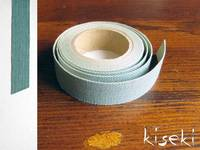 Masking Tape textil Leinen French green 15mm