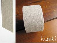 Masking Tape textil Leinen Natural 30mm