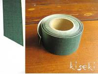 Masking Tape textil Leinen Green 30mm