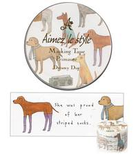 Wide Washi Tape Dreamy Dog 38mm
