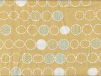 Dot Circle gelb double gauze