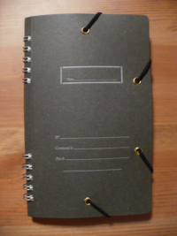 pocket notebook cocoa