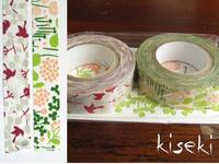Washi Tape message bird & little garden 2er Set A 15mm