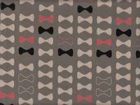 Wachstuch Ribbon gray
