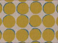 Wachstuch Nordic dots yellow