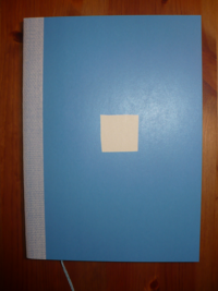 college notebook A5 blue (liniert)