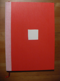 college notebook A5 red (blanko)