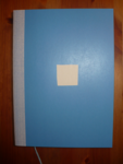 college notebook A5 blue (blanko)