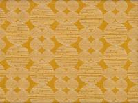 Wachstuch Circle stripe yellow