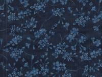 Japan blue - small flower navy