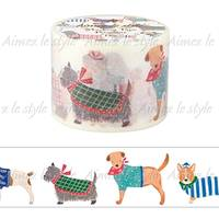 Wide Washi Tape Dog 38mm