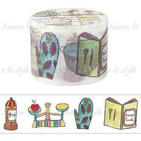 Wide Washi Tape Cooking 38mm