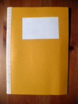 Staircase Notebook A5 mustard (blanko)