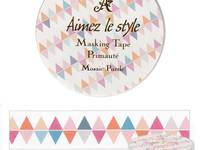 Washi Tape Mosaic Puzzle 15mm