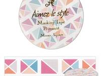 Washi Tape Mosaic Square 15mm