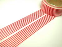 Washi Tape lines red 15mm