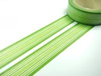 Washi Tape green lines 15mm