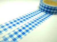 Washi Tape dark blue cloth 15mm