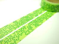Washi Tape clover 15mm