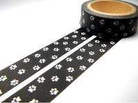 Washi Tape paw 15mm