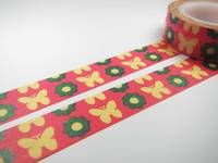 Washi Tape butterfly pink 15mm