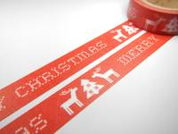 Masking Tape Christmas Reindeer 15mm