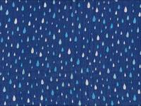 Raindrop blue double gauze