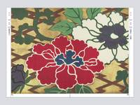 Collection of Japanese Textile Design I: Flowers