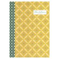 Sheri Lynn A5 Notebook yellow oaker