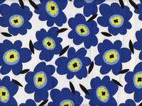 Flower blue (Canvas)